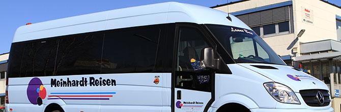 20 sitzer midibus mercedes sprinter meinhardt reisen. Black Bedroom Furniture Sets. Home Design Ideas